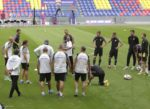 Первая тренировка на новой Арене ЦСКА прошла сегодня