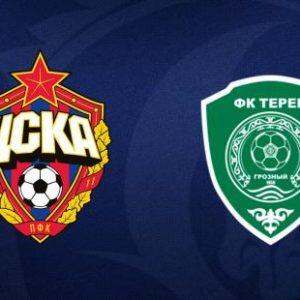 ПФК ЦСКА - Терек