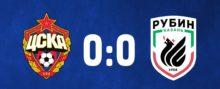 ЦСКА - Рубин - 0:0