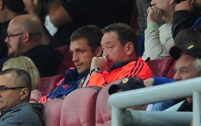 Гончаренко и Слуцкий