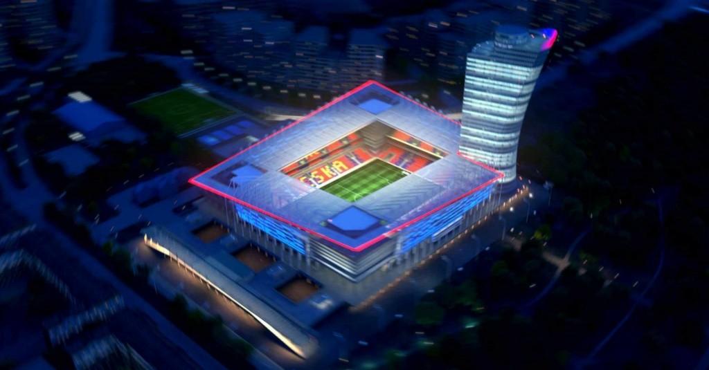"novaya arena tsska v sao - Арена ЦСКА номинирована на звание ""Стадион года"""