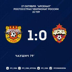 Арсенал Т - ПФК ЦСКА