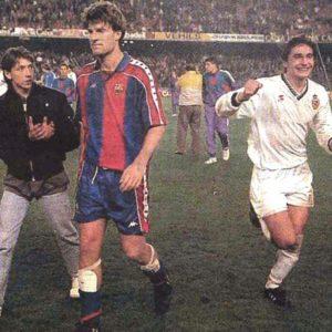 ЦСКА 1992 года с Барсой