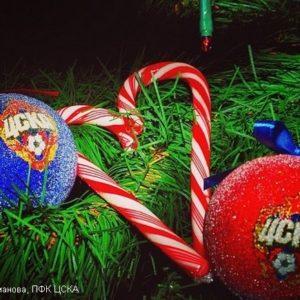 Новый год с ЦСКА