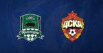 ЦСКА на выезде играет вничью с Краснодаром – 1:1