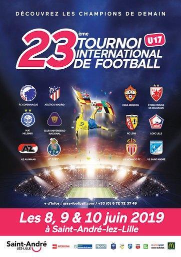 турнир U 17 Saint André Lez Lille France