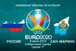 Сборная России обыграла Сан-Марино – 9:0