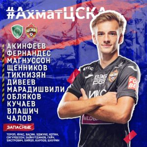 Состав ЦСКА