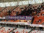 Болельщики ЦСКА подготовили баннер к первому матчу Олича