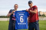 Максим Мухин будет выступать под номером 6