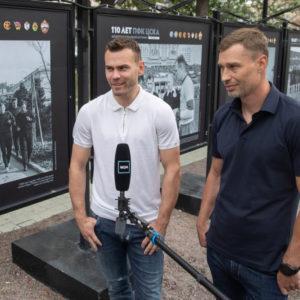 Акинфеев и Алексей Березуцкий
